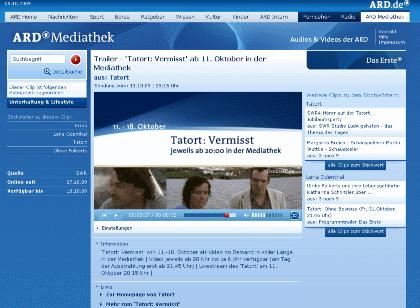 Ard Tatort Mediathek