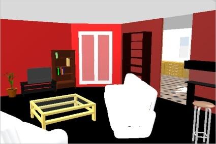 anleitung wohnungsplaner sweet home 3d netzwelt. Black Bedroom Furniture Sets. Home Design Ideas