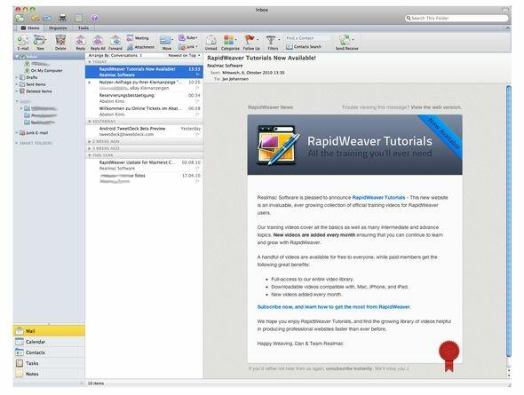 microsoft office f r mac 2011 im test office suite mit