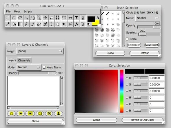 Cinepaint Freie Bildbearbeitung F R Film Und Foto Netzwelt