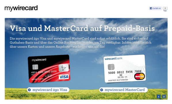 Mywirecard Mastercard