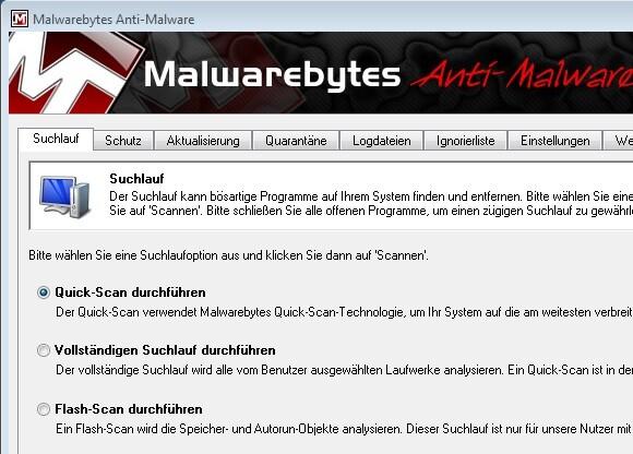 gute malware programme