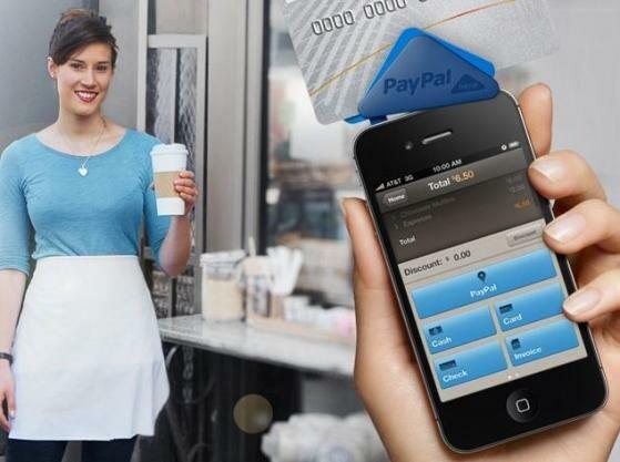 paypal here zum mobilen zahlen mit kreditkarte netzwelt. Black Bedroom Furniture Sets. Home Design Ideas