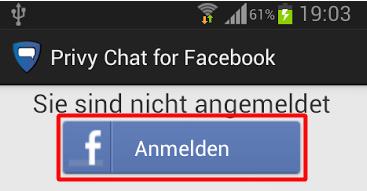 richtig bei facebook anmelden