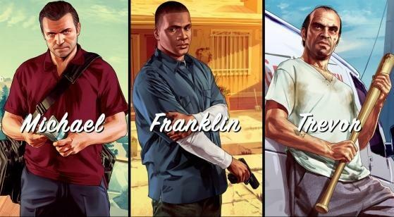 Die drei Helden von GTA V. (Bild: Rockstar Games)