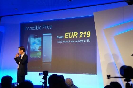 Ein echter Knüllerpreis: In Deutschland wird das Asus fonepad gerade einmal 219 Euro kosten. (Bild: netzwelt)