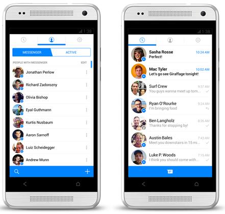 Facebook Messenger: Update Für Android- Und IOS-App Nun ...