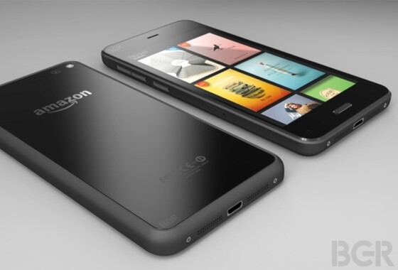 This image is intended to show the first smartphone from Amazon. (Photo: BGR)