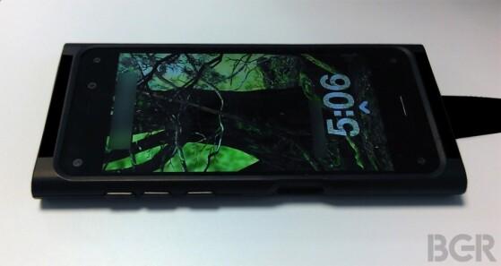 Boy Genius Report were leaked photos of the first Amazon smartphones. (Photo: BGR)