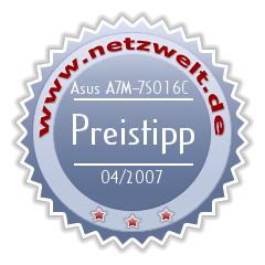Award: Asus A7M im Test