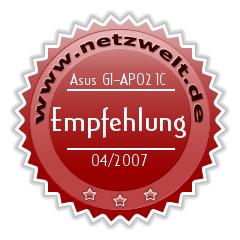Award: Asus G1 im Test