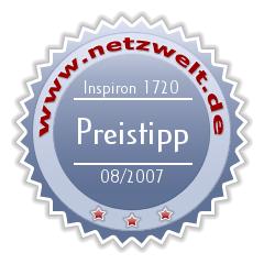 Award: Dell Inspiron 1720 im Test