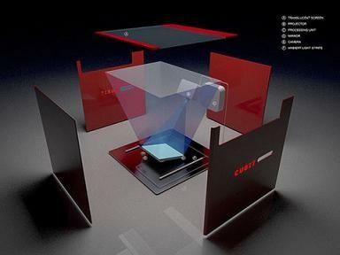 cubit ein multitouch tisch im selbstbau netzwelt. Black Bedroom Furniture Sets. Home Design Ideas