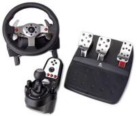 logitech g25 racing wheel im test edel rennsport f r pc. Black Bedroom Furniture Sets. Home Design Ideas