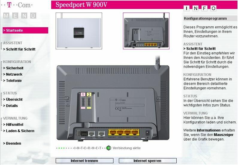 klonkrieger im test t com router speedport w 900v netzwelt. Black Bedroom Furniture Sets. Home Design Ideas