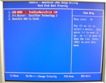 Wichtige BIOS-Einstellungen