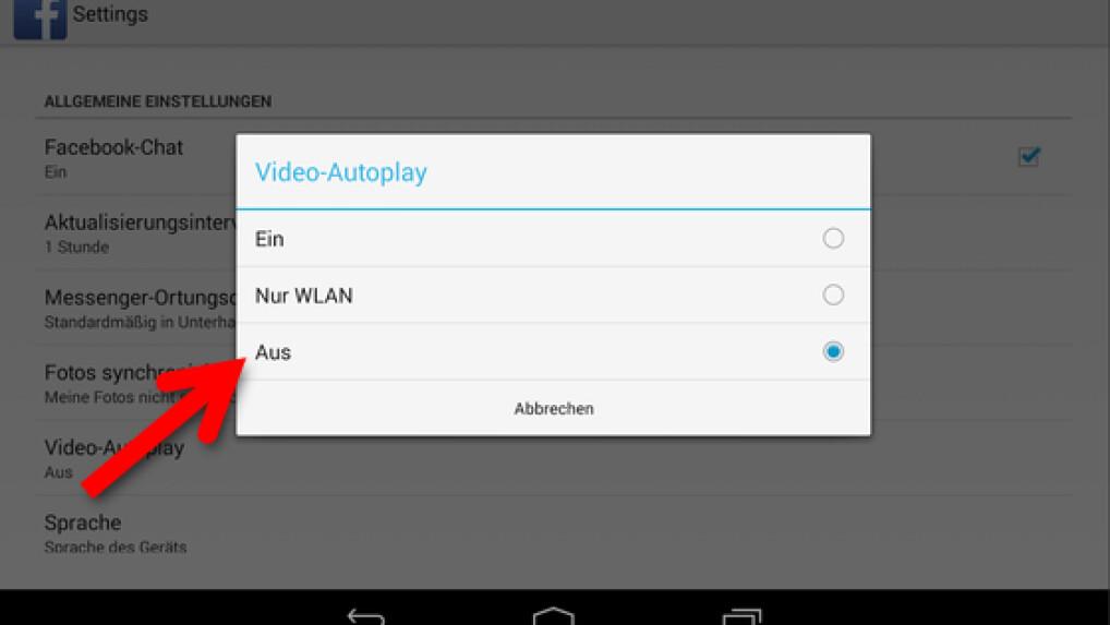 Facebook Autoplay Deaktivieren Android