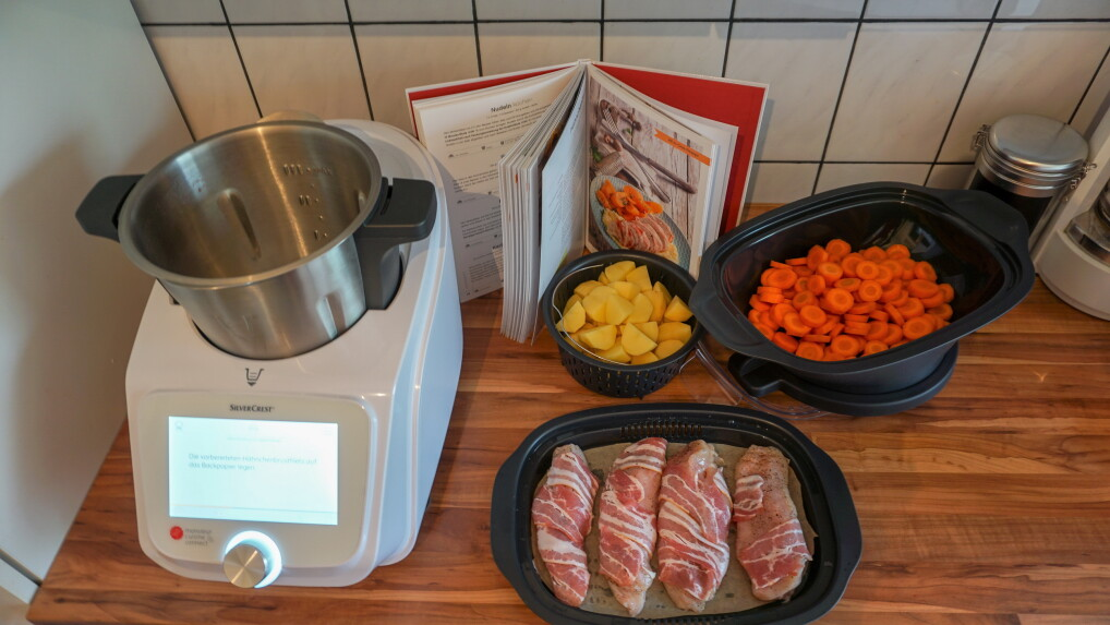 Lidl Kuchenmaschine Monsieur Cuisine Connect Test Home Sweet Home