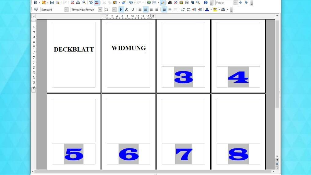OpenOffice: So lasst ihr die Seitenzahlen ab Seite 2 oder 3