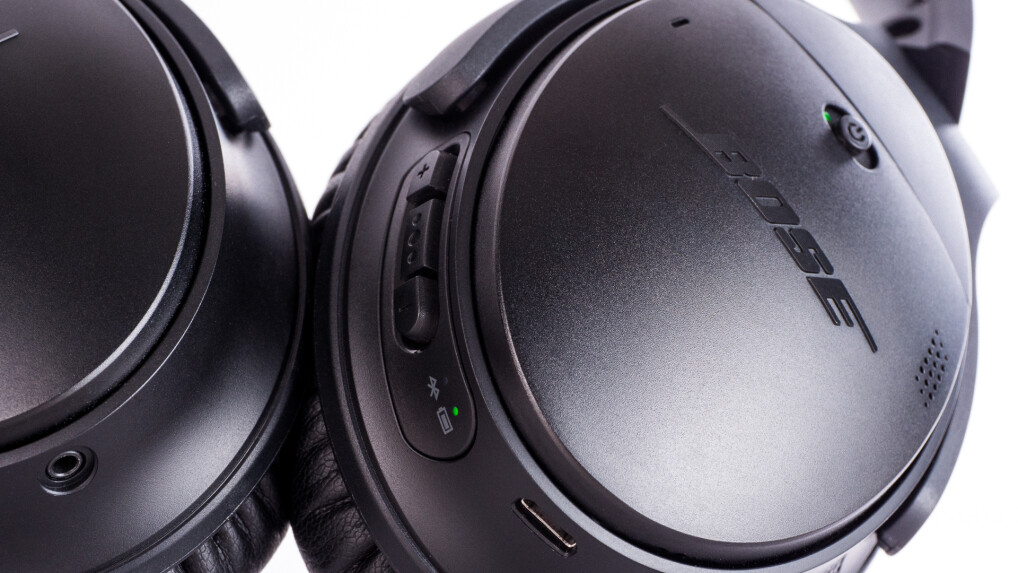 bose quietcomfort 35 im test der beste anc kopfh rer mit. Black Bedroom Furniture Sets. Home Design Ideas