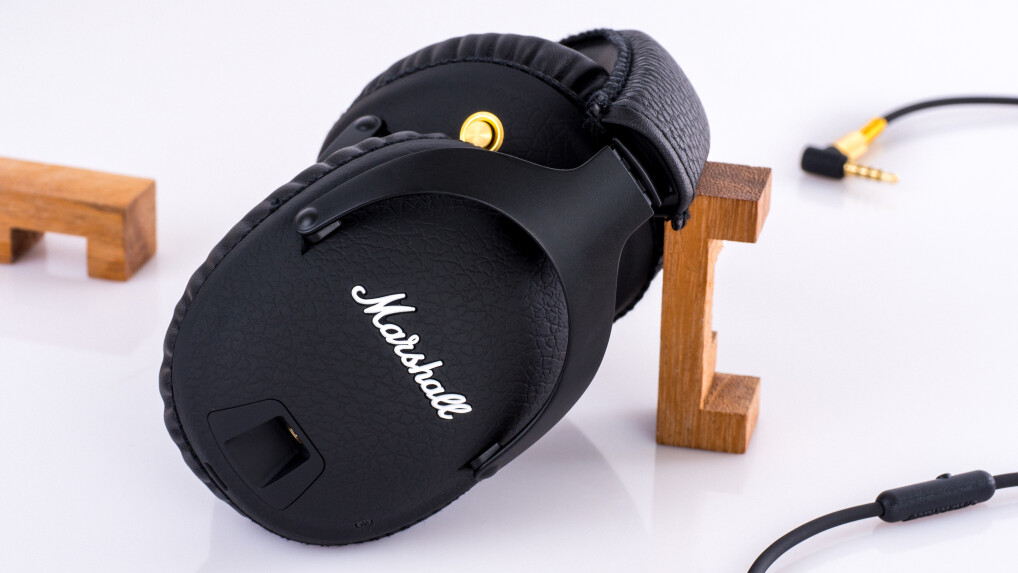 marshall monitor bluetooth im test stylisher over ear. Black Bedroom Furniture Sets. Home Design Ideas