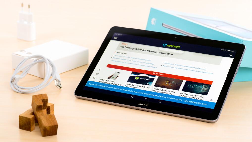 Huawei Mediapad T3 10 Im Test Ein Markenschnäppchen Netzwelt