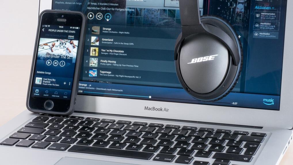 4276ddc41556a0 Prime Music im Test: Musik-Flatrate vom Versandhändler ausprobiert ...