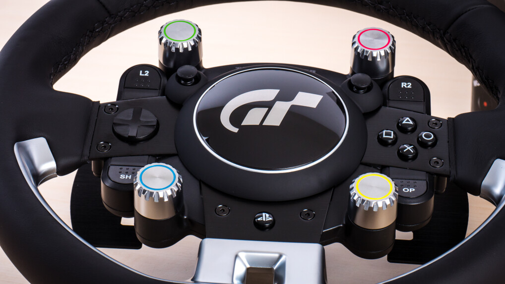 thrustmaster t gt im test may the force feedback be with you netzwelt. Black Bedroom Furniture Sets. Home Design Ideas