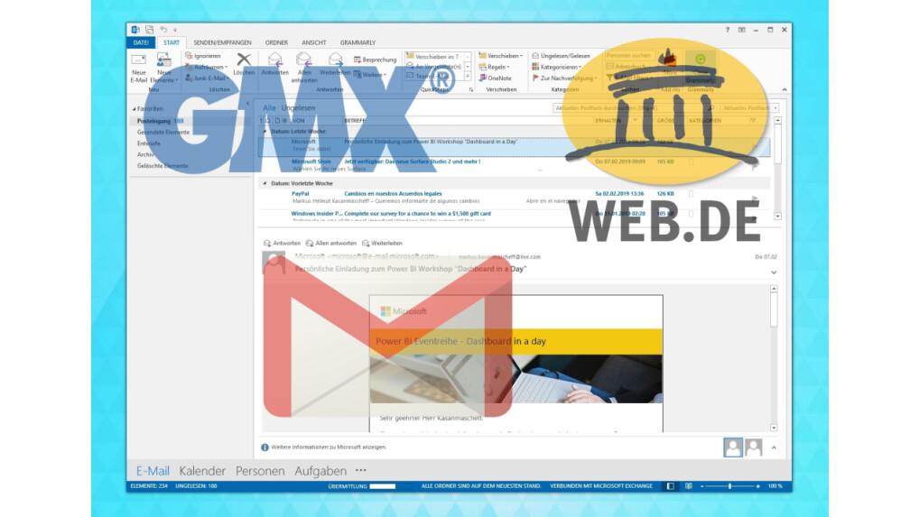 Gmx mail einrichten android