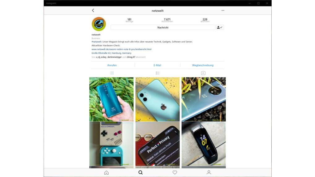 Instagram Pc Nachrichten