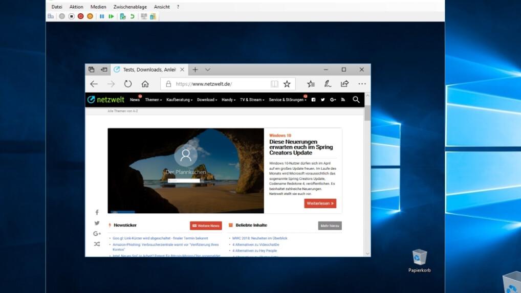 Vmware workstation pro kann unter windows nicht ausgeführt werden