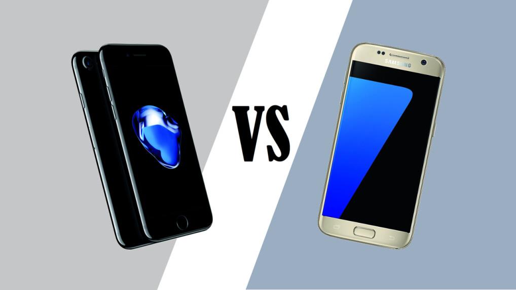 galaxy s7 vs iphone 7 welches smartphone ist besser netzwelt. Black Bedroom Furniture Sets. Home Design Ideas