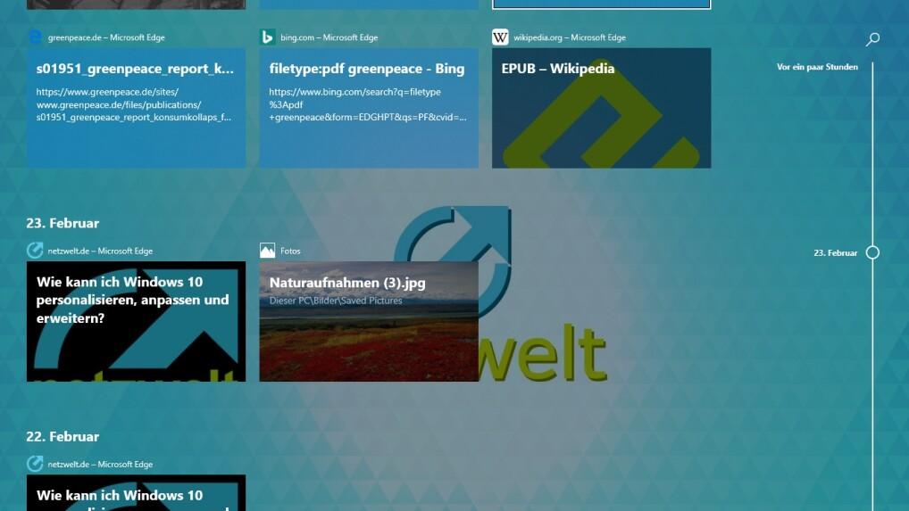 Webseite als hintergrund windows 10