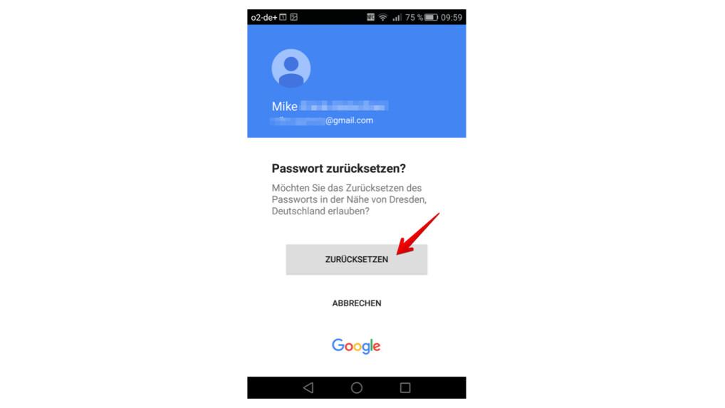 Google: Passwort ändern und Kennwort zurücksetzen   NETZWELT