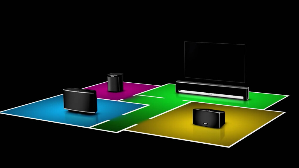 sonos set im test multiroom lautsprecher f rs edel streaming netzwelt. Black Bedroom Furniture Sets. Home Design Ideas