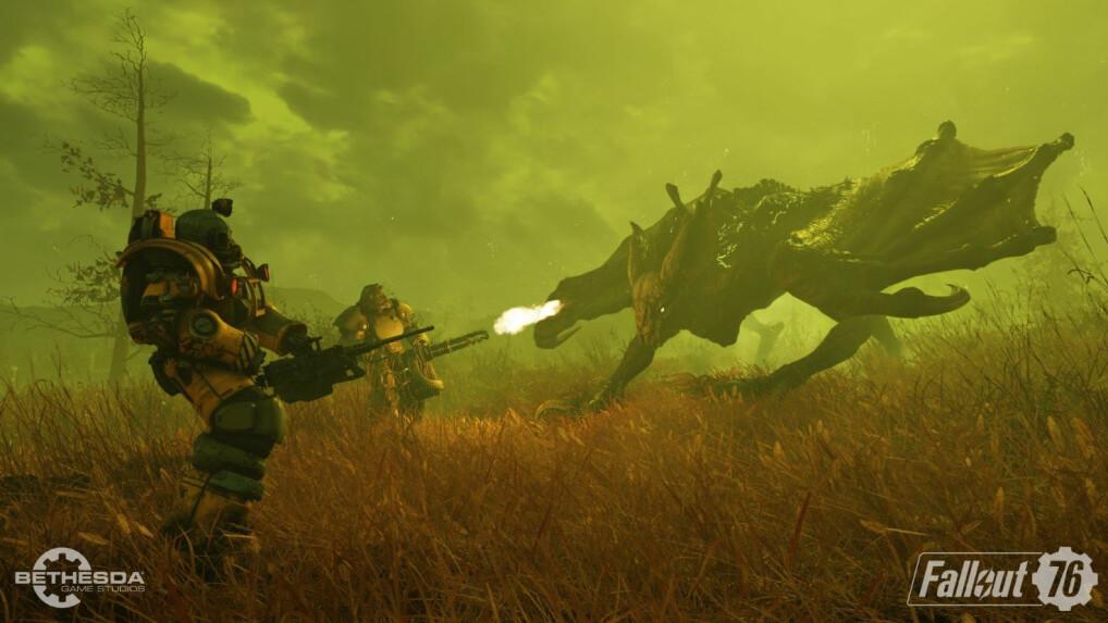 Fallout 76 Komplette Karte.Fallout 76 Im Ersten Test Große Kritik Im Netz Ist Es Wirklich So