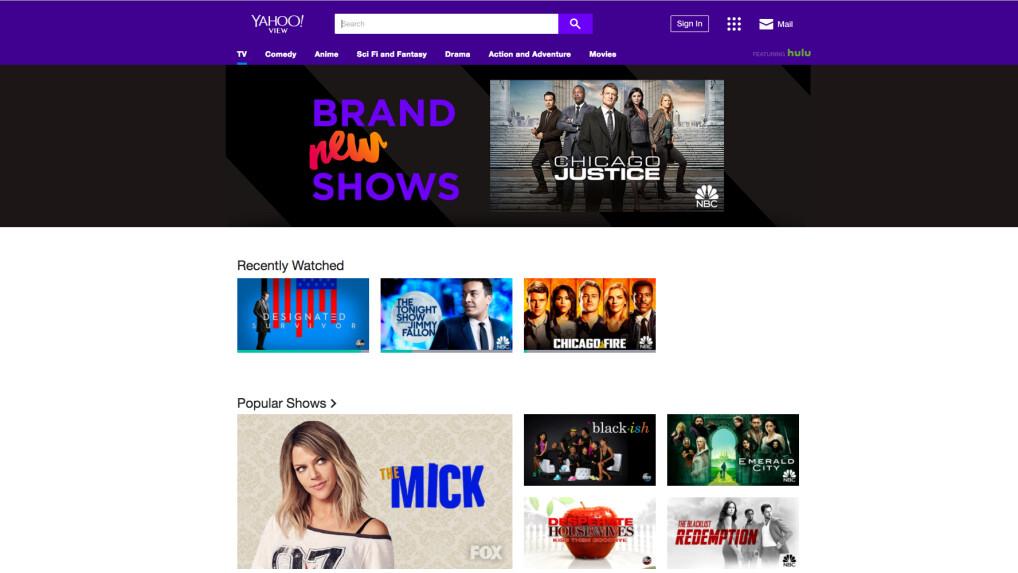 Yahoo View im Test: Aktuelle US-Serien kostenlos im Stream - NETZWELT