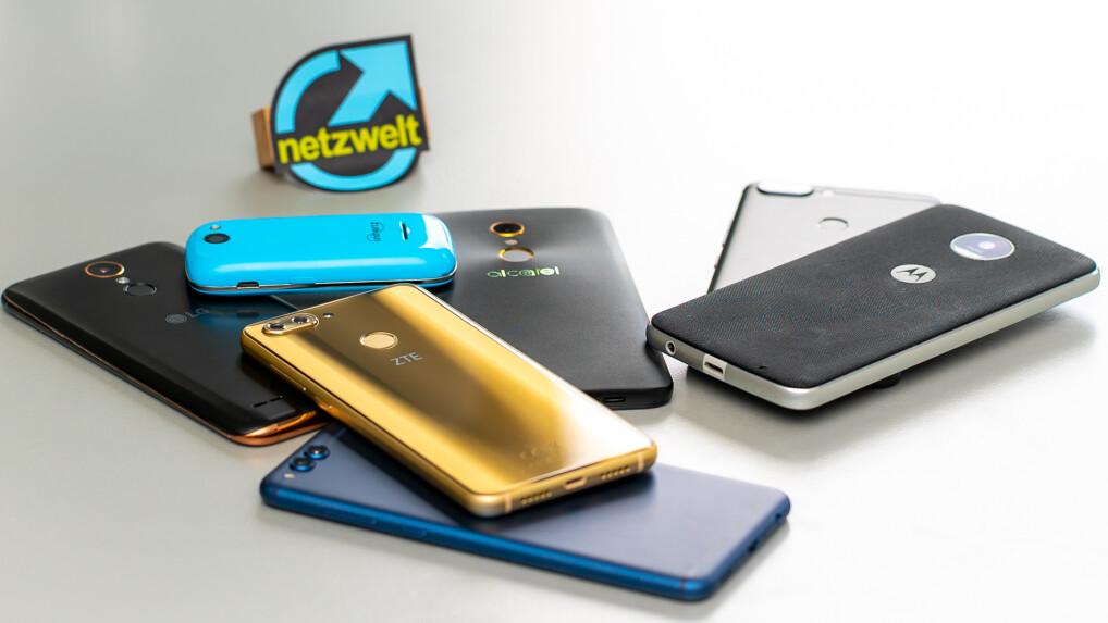Günstige Smartphones im Test: Die besten Handys bis 200 Euro