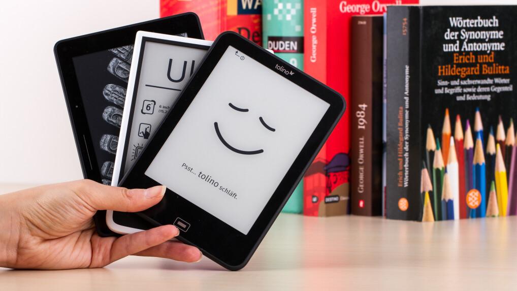 das sind die besten e book reader netzwelt. Black Bedroom Furniture Sets. Home Design Ideas