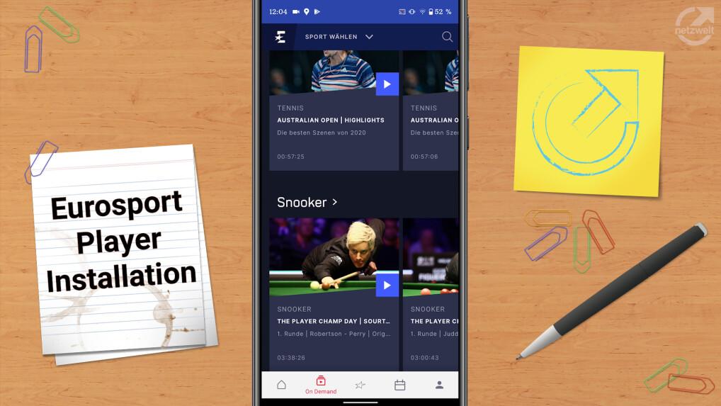 Eurosport Player Wie Viele Geräte Gleichzeitig