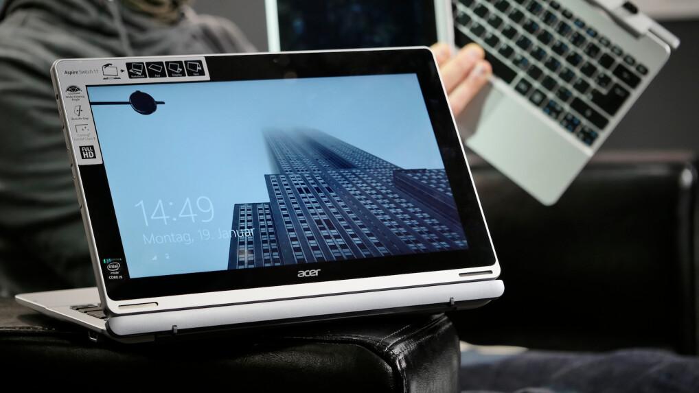 Acer Switch 11 im Test: Tablet mit Tastatur als Notebook ...