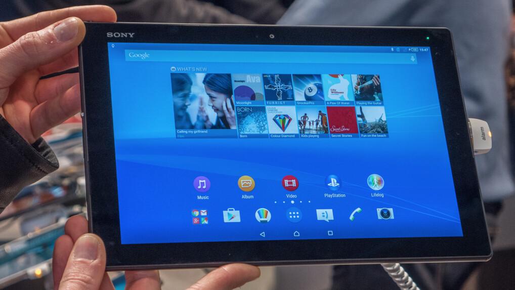Sony Xperia Z4 Tablet im ersten Test: Dieses Tablet fliegt ...