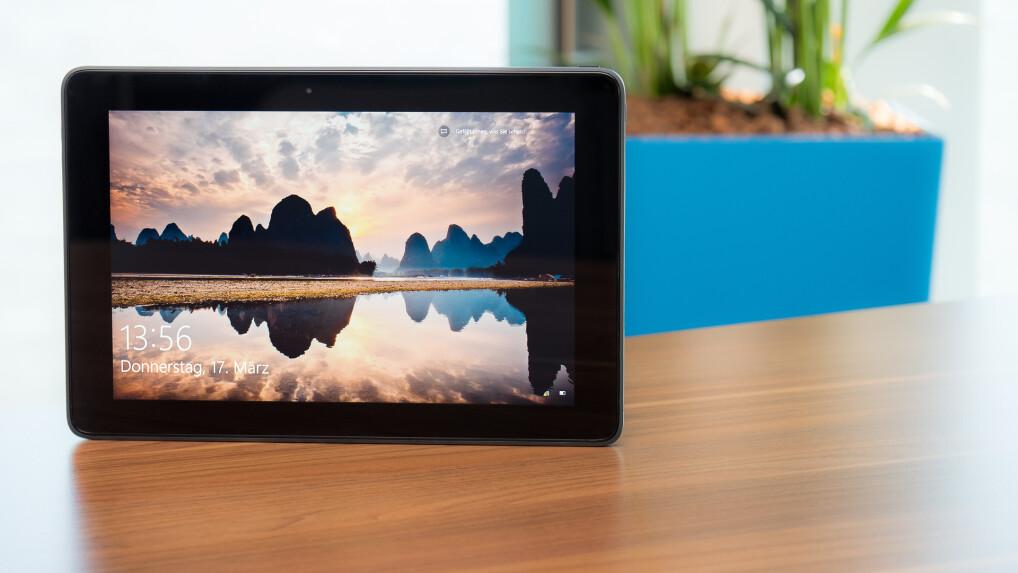 Dell Venue 10 Pro (5056) im Test: Windows 10-Tablet mit Cherrytrail ...
