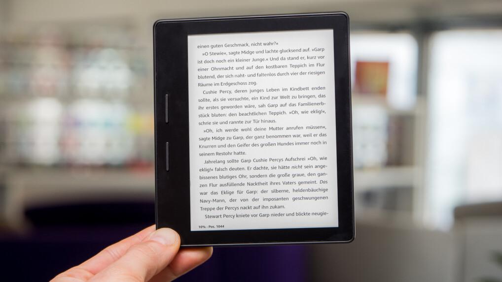 Kindle Oasis Im Test Der Beste E Book Reader Und Sein Wasserfester