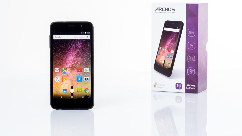 archos 50 power im test smartphone mit. Black Bedroom Furniture Sets. Home Design Ideas