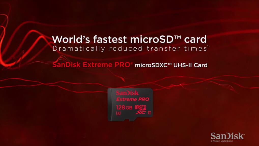 schnellste sd karte SanDisk Extreme Pro: Weltweit schnellste UHS II MicroSD Karte im