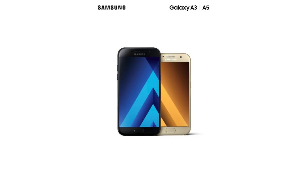 Galaxy A3 Und A5 2017 Das Ist Samsungs Neue Mittelklasse Netzwelt