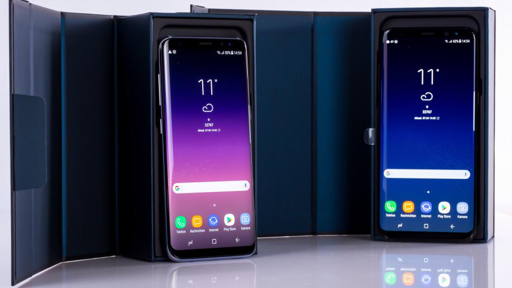 galaxy smartphones im test samsung handys 2018 im. Black Bedroom Furniture Sets. Home Design Ideas