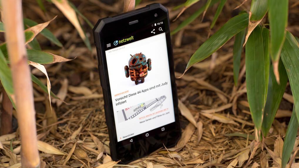 Smartphone verhakt Apps