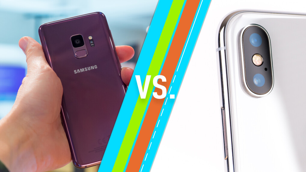Galaxy S9 Plus Versus Iphone X Premium Smartphones Im Vergleich